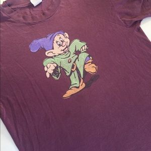 Vintage light purple dopey Disney shirt
